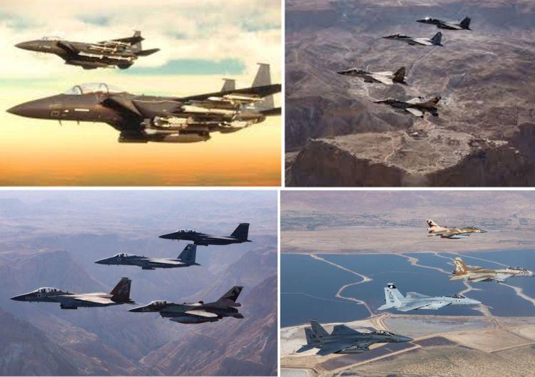 תרגיל משותף של חיל האוויר הישראלי עם איחוד האמירויות הערביות