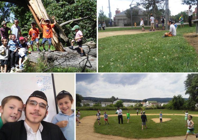 מחנה גן ישראל בפנסלבניה מתחיל!