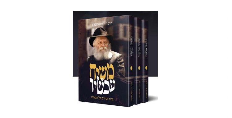 מפיצים את ספרי הרב גינזבורג