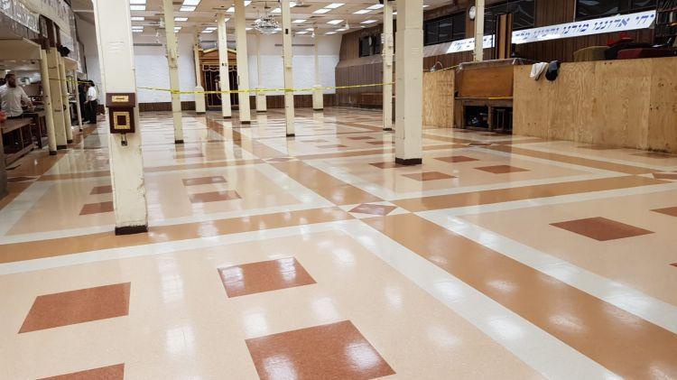 גלריה • ב770 החליפו את הרצפה