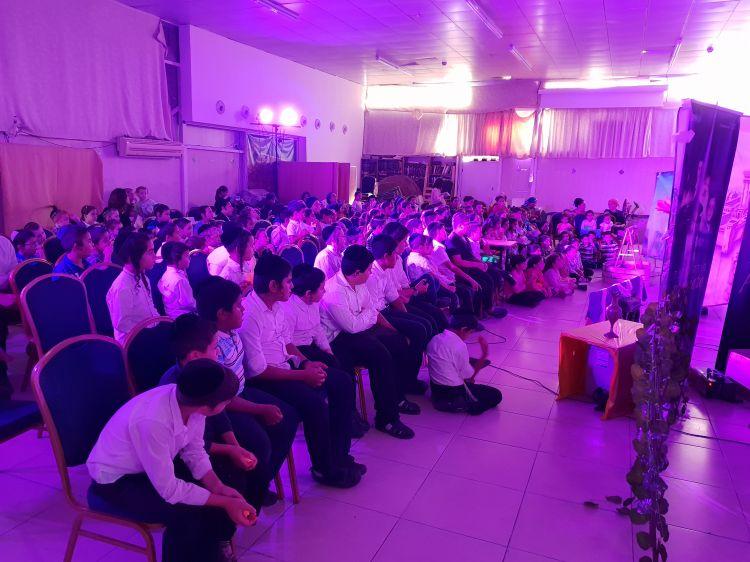 קרית גת: הצלחה גדולה לכינוס ילדים ענק