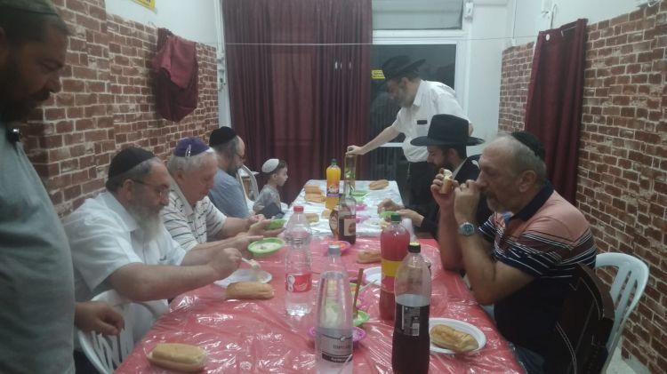 השליח ממולדובה התוועד בבאר שבע