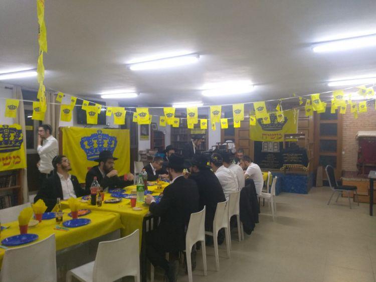 בישיבה בבאר שבע חגגו גאולה
