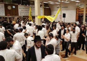 דידן נצח • ריקודים סוערים ב-770 לרגל שחרורו של התמים