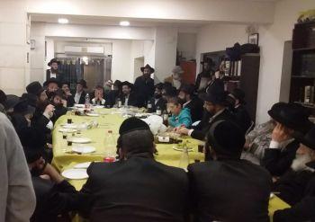 התוועדות סוחפת במרכז משיח וגאולה ירושלים