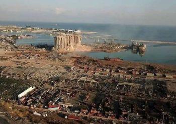 הפיצוץ האדיר בנמל בירות