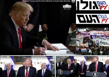 """מנהיג ארה""""ב הכיר בגולן הישראלי"""