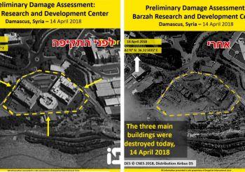 תוצאות התקיפה בסוריה, כוננות מול איראן