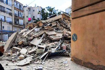 נס בחולון: בנין קרס יום לאחר שפונה לחלוטין מיושביו