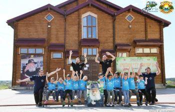 דיי קעמפ אוקראינה בשמחת הגאולה