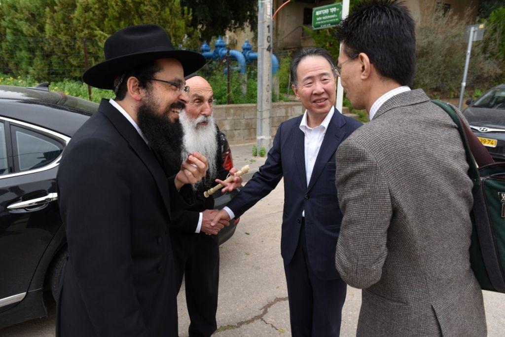 ביקור שגריר יפן גלריה מלאה