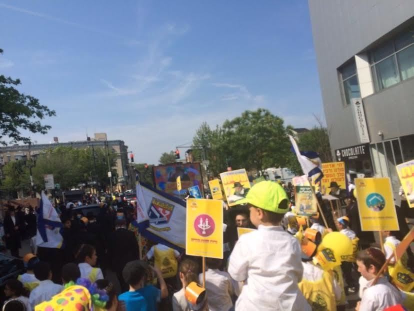תהלוכה של גאולה בשכונת המלך