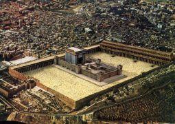 מלך המשיח בונה מקדש במקומו
