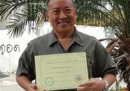 קצין בצבא הסיני קיבל תעודת בן נח